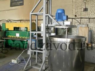 Диссольверы для ЛКМ, Реакторы, Смесители Сыпучих материалов. Завод Гранд