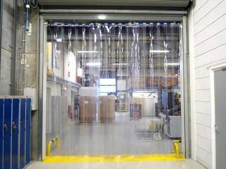 Силиконовые пвх-шторы-завесы, изготовление в Пензе