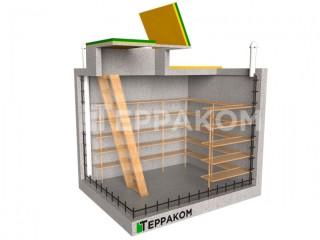 Бетонный погреб - 10 м³