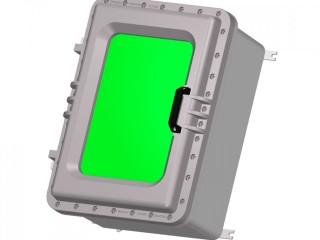 Взрывозащищенная коробка ЩОРВ725235-О3247 с окном (взрывонепроницаемая оболочка)