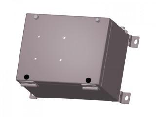 Взрывозащищенная коробка соединительная КСРВ-М231815 из малоуглеродистой стали