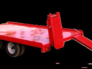 Прицеп для перевозки дорожно - строительной техники до 6 тонн