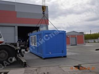 Блок-контейнер тип «Север»: операторная