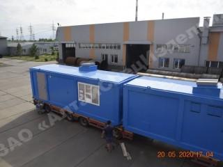 Блок-контейнер управления