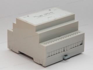 DMX сплиттер на 6 выходов с двойной гальванической развязкой.
