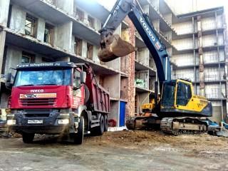 Подготовка площадки к строительству