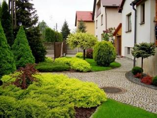 Ландшафтный дизайн сада. Озеленение.