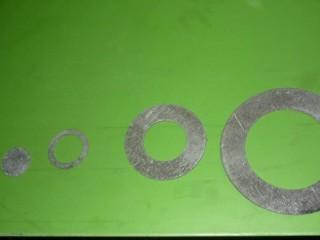 Пресс с ЧПУ для вырубки колец из паронита модели ПГКПФ3