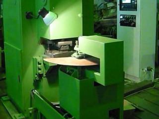 Пресс для вырубки пазов в железе ротора и статора