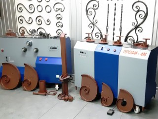 Реализуем кузнечные станки ПРОФИ-4М для «художественной  ковки» и гибки металлопроката