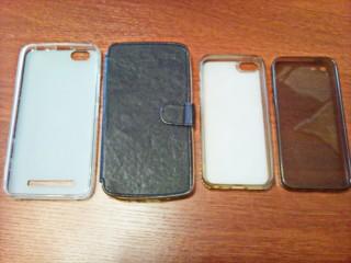 Чехлы для телефонов Lenovo Vibe C и iPhone 5/5S.
